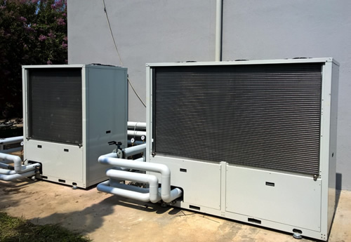 operational co2 heat pumps