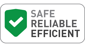 Safe, Reliable, Efficient